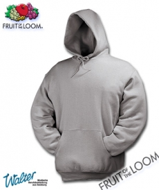 "Produktbild ""Cileto Kapuzensweatshirt - Fruit of the Loom® Hooded Sweat weiß"""