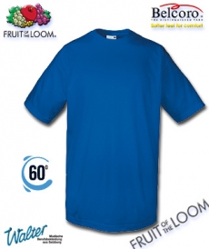 "Produktbild ""Amazonas T-Shirt - Fruit of the Loom® Super Premium T färbig"""